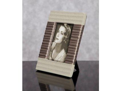 Fotorámeček PRIME béžová 10x15 cm fotografie Mybesthome
