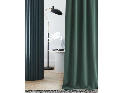 """Dekorační závěs zatemňující LAURA - """"BLACKOUT"""" 140x250 cm, zelená (cena za 1 kus) MyBestHome"""