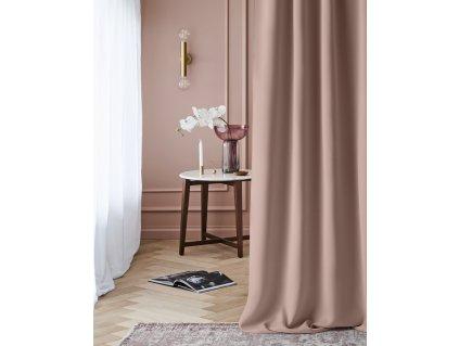 """Dekorační závěs zatemňující LAURA - """"BLACKOUT"""" 140x250 cm, pudrová růžová (cena za 1 kus) MyBestHome"""