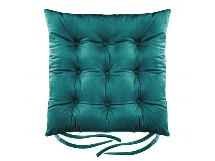 Sedák na židli BORNEO zelená 40x40 cm (cena za 1 kus) Mybesthome