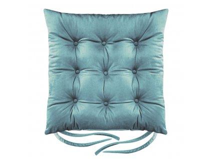 Sedák na židli BORNEO mořská zelená 40x40 cm (cena za 1 kus) Mybesthome