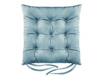 Sedák na židli BORNEO modrá 40x40 cm (cena za 1 kus) Mybesthome