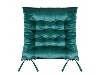 Sedák na židli SUMATRA zelená 40x40 cm (cena za 1 kus) Mybesthome