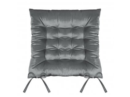 Sedák na židli SUMATRA světle šedá 40x40 cm (cena za 1 kus) Mybesthome