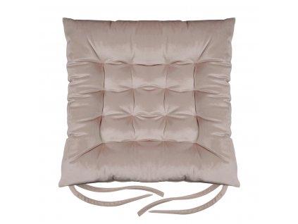 Sedák na židli SUMATRA růžová 40x40 cm (cena za 1 kus) Mybesthome