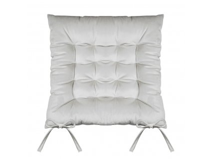 Sedák na židli SUMATRA šedá 40x40 cm (cena za 1 kus) Mybesthome