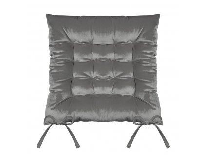 Sedák na židli SUMATRA grafitová 40x40 cm (cena za 1 kus) Mybesthome