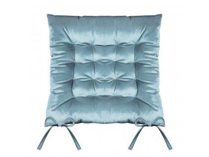 Sedák na židli SUMATRA modrá 40x40 cm (cena za 1 kus) Mybesthome