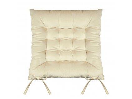 Sedák na židli SUMATRA zlatá 40x40 cm (cena za 1 kus) Mybesthome