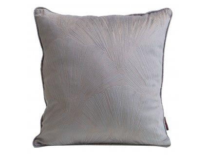 Polštář GOYA PIERRE CARDIN stříbrná 40x40 cm Mybesthome