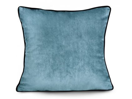 Polštář VELVETE modrá 45x45 cm Mybesthome