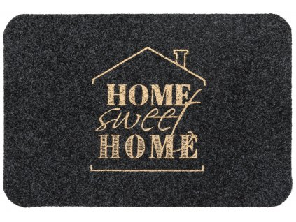 Rohožka - předložka AT HOME -SWEET HOME šedá různé rozměry MultiDecor