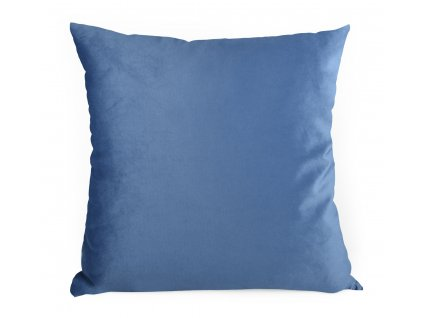 Dekorační polštář s výplní BRUNO 60x60 cm VELVET modrá Mybesthome