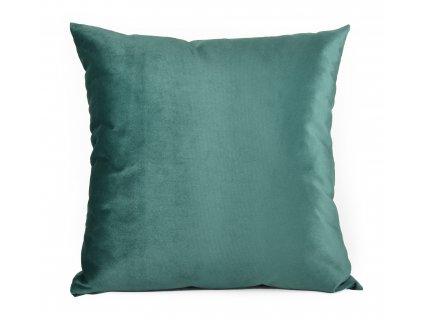 Dekorační polštář s výplní BRUNO 60x60 cm VELVET zelená Mybesthome