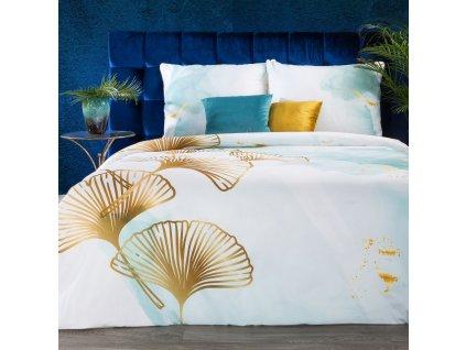Luxusní povlečení  EVA 08 100% saténová bavlna 1x 200x220 cm, 2x povlak 70x80 cm francouzské povlečení