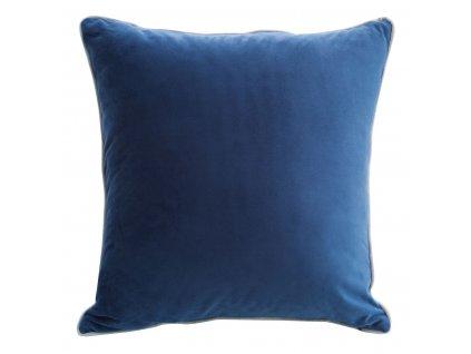 Polštář XENIE velvet modrá 40x40 cm Mybesthome