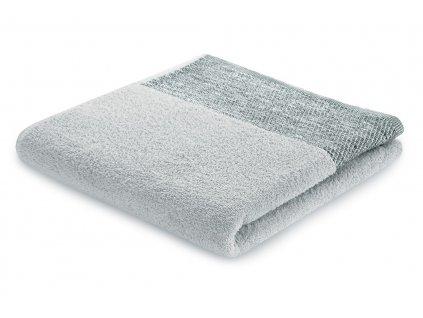 Bavlněný froté ručník ARICA 50x90 cm, stříbrná, 460 g/m2 Mybesthome