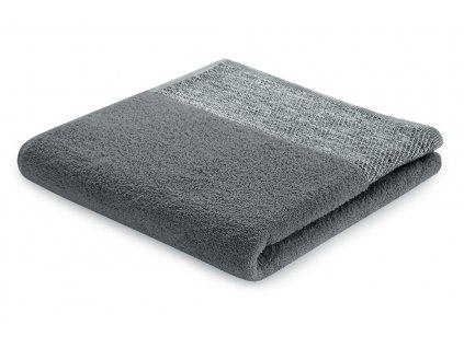 Bavlněný froté ručník ARICA 50x90 cm, tmavě šedá, 460 g/m2 Mybesthome