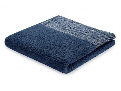 Bavlněný froté ručník ARICA 50x90 cm, tmavě modrá, 460 g/m2 Mybesthome