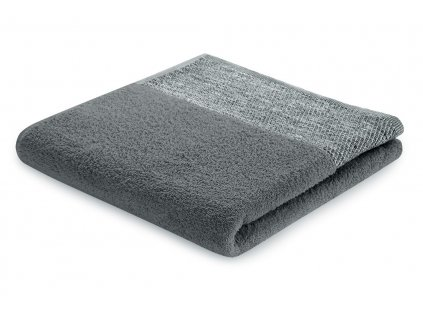 Bavlněná froté osuška ARICA 70x140 cm, tmavě šedá, 460 g/m2 Mybesthome