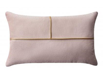 Polštář SIMPLICITY s výplní růžová 30x50 cm MyBestHome
