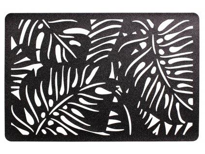 Prostírání FORET černá 28x43 cm Mybesthome