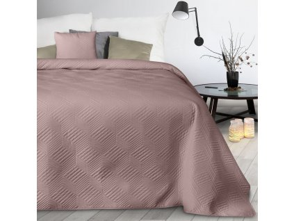 Přehoz na postel JOSEF růžová 170x210 cm Mybesthome