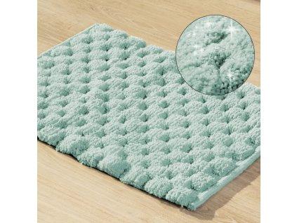 Koupelnová předložka - kobereček LUCA mátová 50x70 cm nebo 60x90 cm Mybesthome