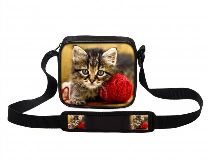 Taška přes rameno MINI kočky 06 MyBestHome 19x17x6 cm