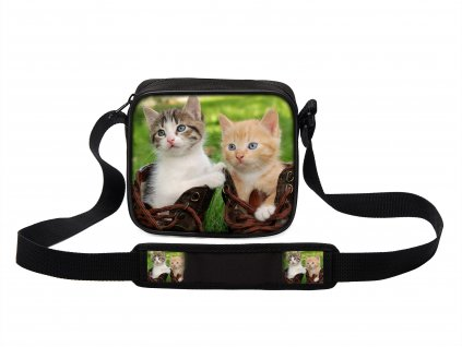 Taška přes rameno MINI kočky 07 MyBestHome 19x17x6 cm