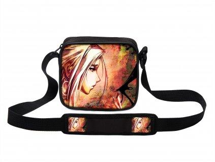 Taška přes rameno MINI svět manga anime 04 MyBestHome 19x17x6 cm