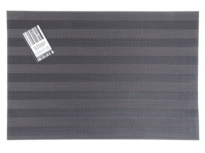 Prostírání STRIP 30x45 cm šedá Essex