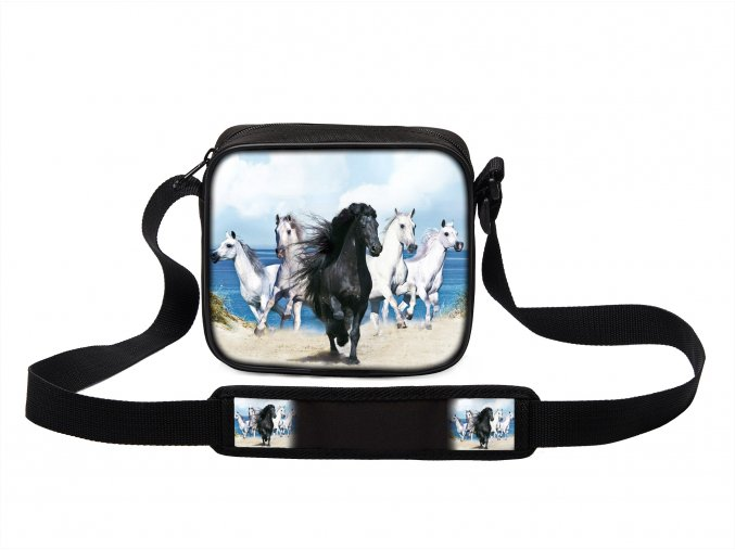 Taška přes rameno MINI s koněm 05 MyBestHome 19x17x6 cm