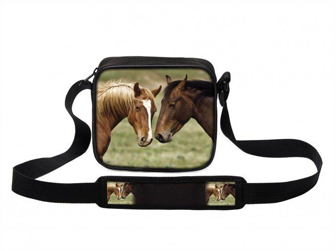 Taška přes rameno MINI s koněm 06 MyBestHome 19x17x6 cm