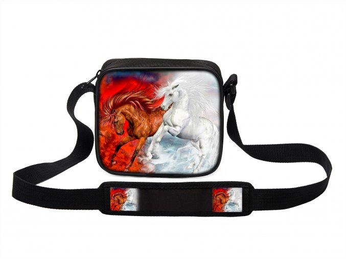 Taška přes rameno MINI s koněm 08 MyBestHome 19x17x6 cm