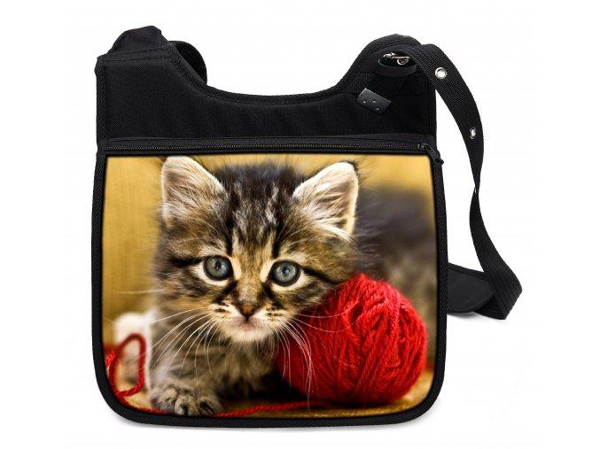 Taška přes rameno kočky 08 MyBestHome 34x30x12 cm
