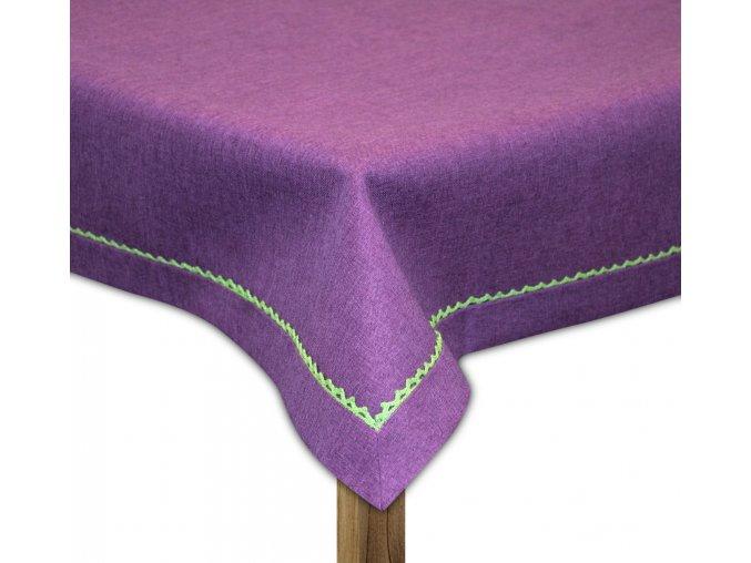 Ubrus CAMDEN, 80x80, 110x160, 130x180 cm, 160x220 cm fialová, ESSEX