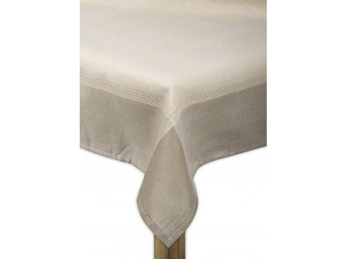 Ubrus WATERLOO, 80x80, 110x160, 130x180 cm, 160x220 cm smetanová, ESSEX