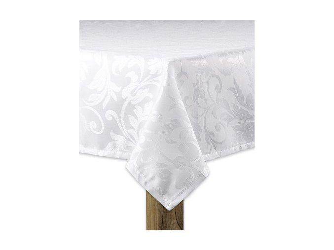 Ubrus SIMPLE design A, 80x80, 120x120 cm, 120x160 cm, 140x160 cm bílá, ESSEX