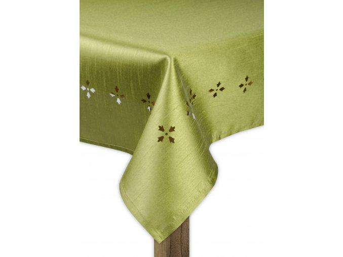 Ubrus STAR DUST, 130x180 cm, zelená, ESSEX