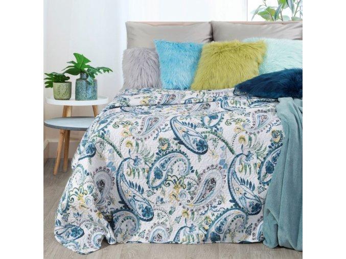Přehoz na postel SAMUEL 200x220 cm Mybesthome