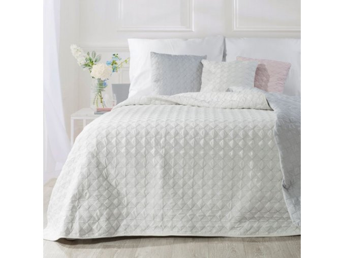 Přehoz na postel ABIGAL 200x220 cm bílá Mybesthome