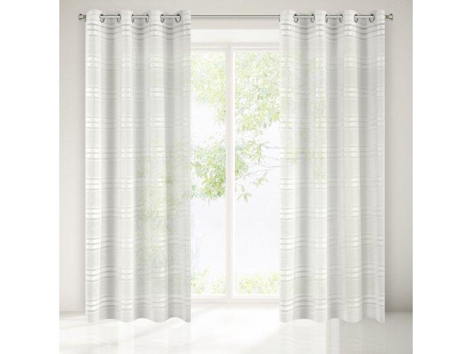 Dekorační záclona AZIZA krémová 140x250 cm MyBestHome