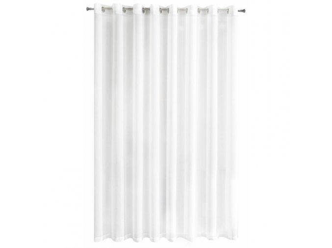 Dekorační záclona s kroužky CHRISTIAN bílá 300x250 cm MyBestHome