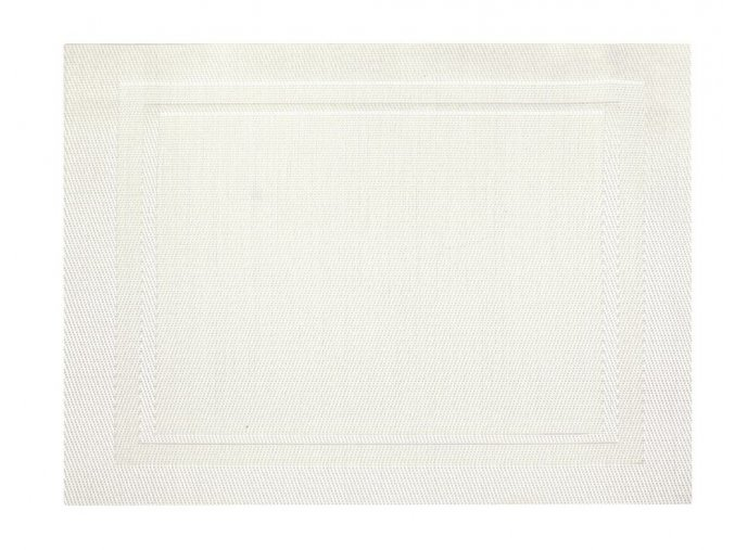 Prostírání CLOTH 33x45 cm bílá HOME & YOU