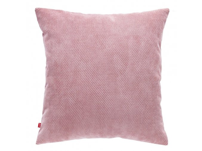Polštář KORD světlá růžová 45x45 cm HOME & YOU