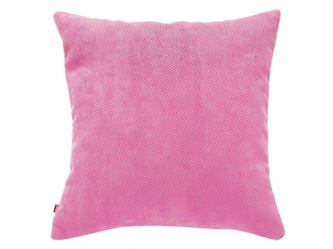 Polštář KORD růžová 45x45 cm HOME & YOU