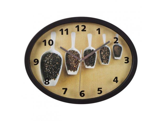 Nástěnné hodiny NECSA 29,4x22,6 cm Mybesthome
