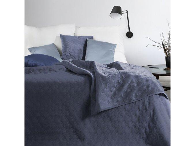 Přehoz na postel COCO 220x240 cm modrá Mybesthome