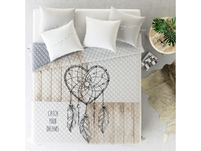 Přehoz na postel CATCH DREAM 220x240 cm MyBestHome